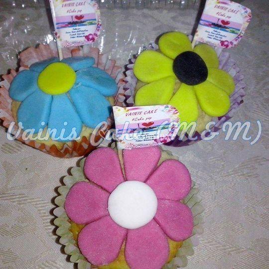 Cupcakes fondant