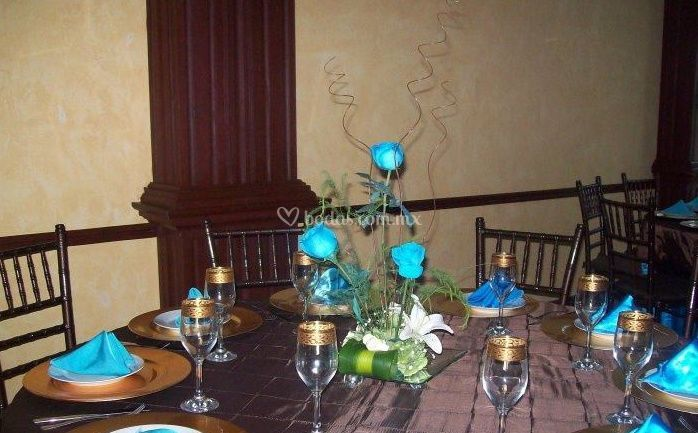Flores para la mesa