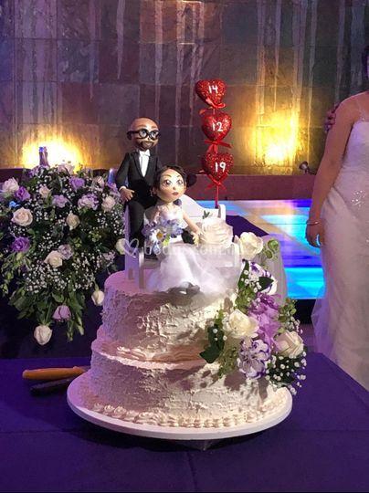 Pastel bodas 3 pisos