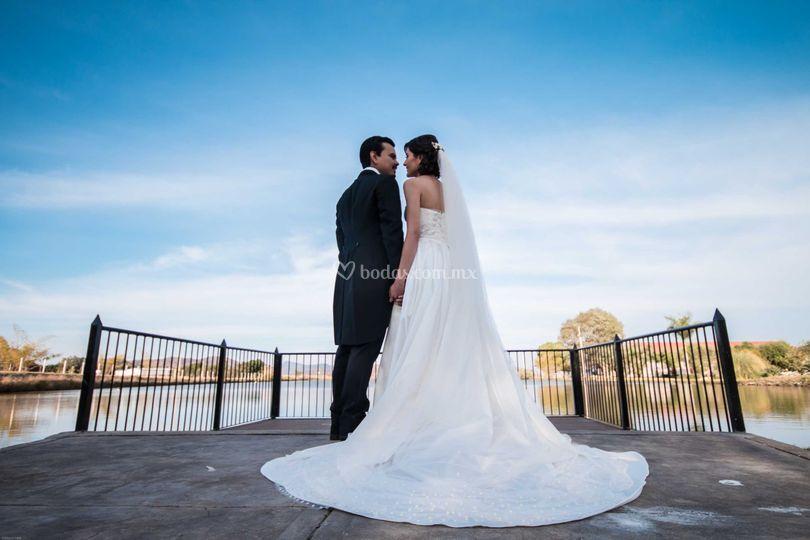 Retrato de bodas
