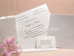 Invitación impreso en serigrafía con recuerdo