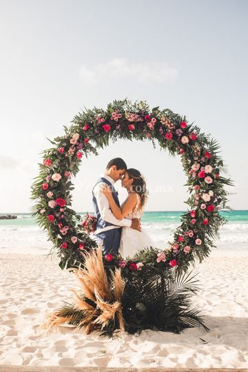 Pareja Cancún