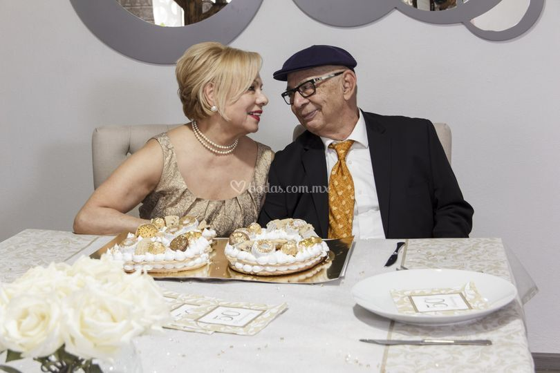 Festejan 50 de casados