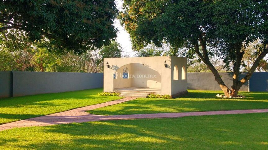 Área para ceremonia