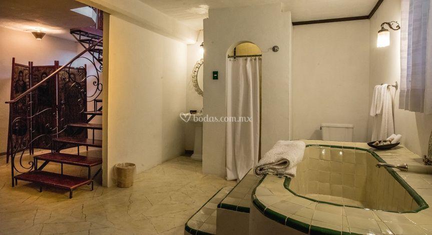 Lujoso baño