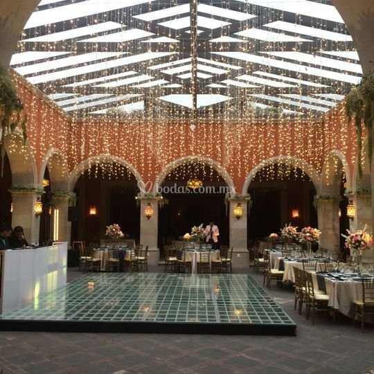 La casona san miguel - Iluminacion decorativa exterior ...