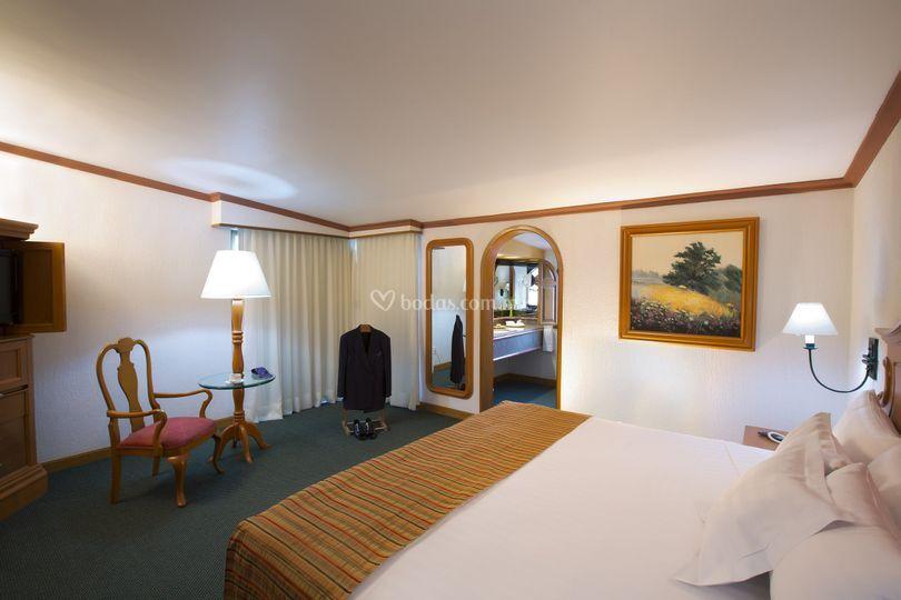 Habitación suite cama king