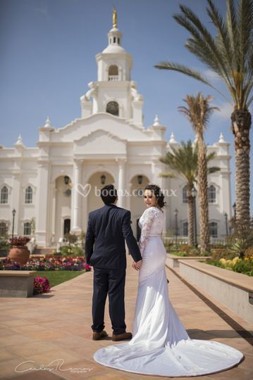 Templo square TJ Wedding