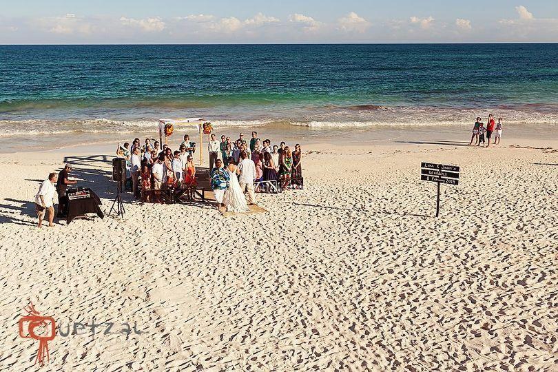 Wedding in Playa Azul