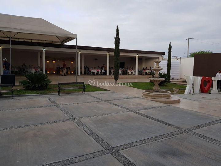 Quinta venecia for Jardines venecia