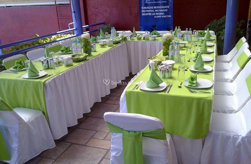 Para banquetes