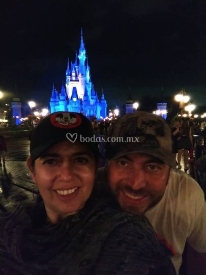Luna de miel en Disney