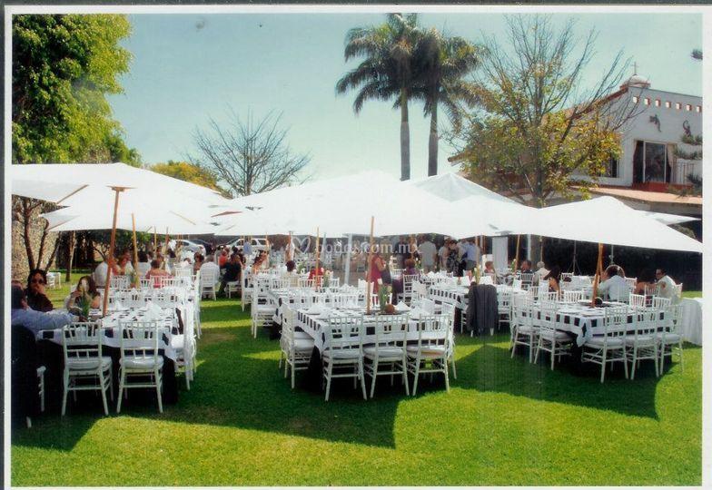 Casa rosas banquetes for Casa jardin buffet