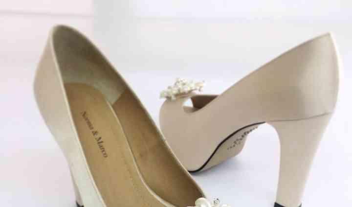 Zapato con perla