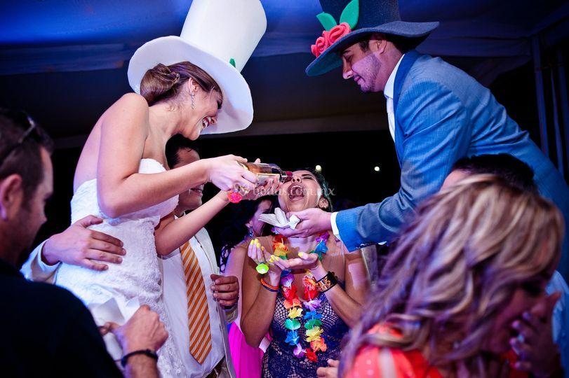 Tequila y fiesta