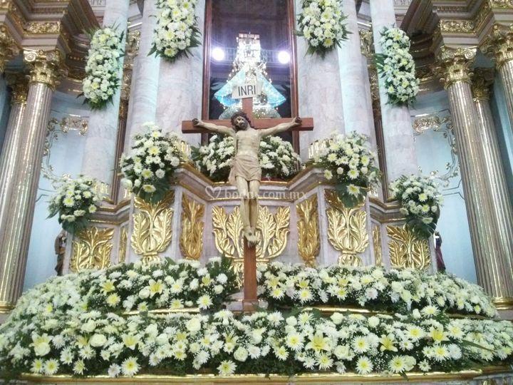 De altar parroquia