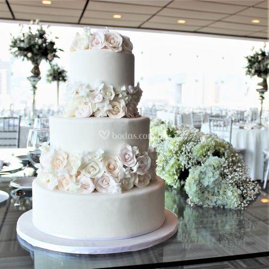 All-white Cake