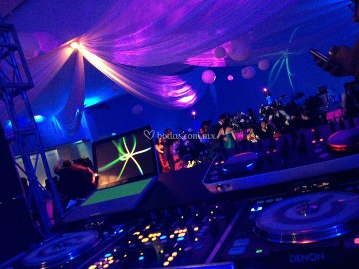 Evento con música de DJ