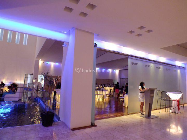 Lobby del salón