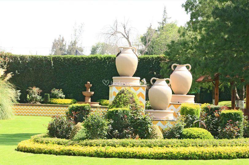 El campanario for Jardin principal