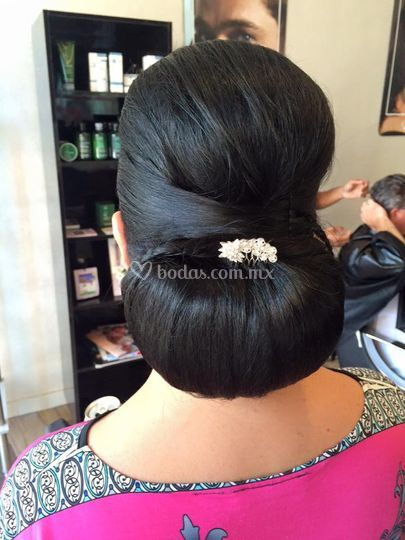 Peinado clásico