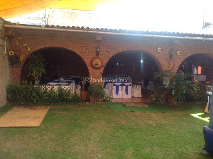Exterior de jard n la caba a foto 69 for Cabanas para jardin