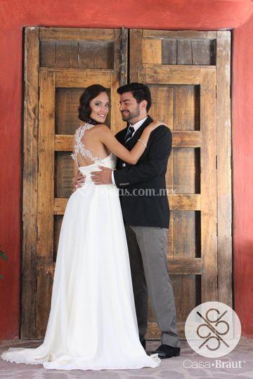 Vestido y fotografía Casa Braut