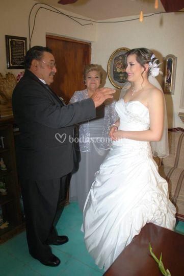Bendición de novia