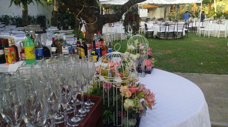Barra para boda