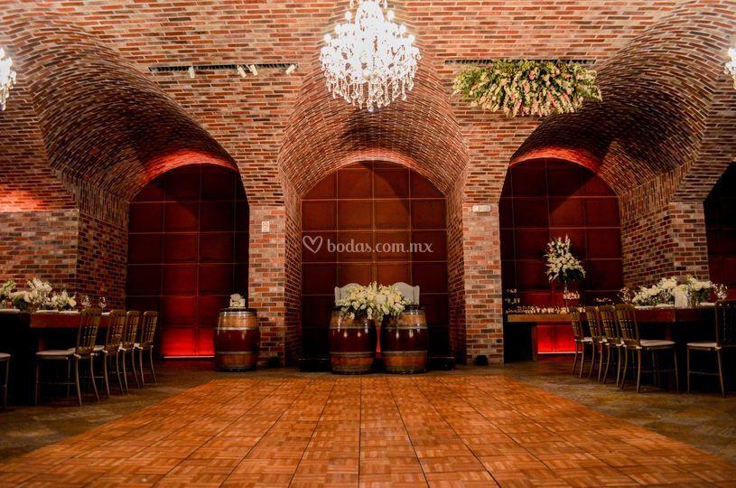 Ambiente de vinícola