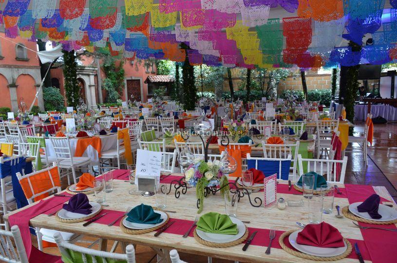 Evento estilo mexicano