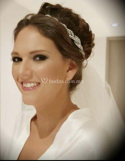 Maquillaje profesional novia