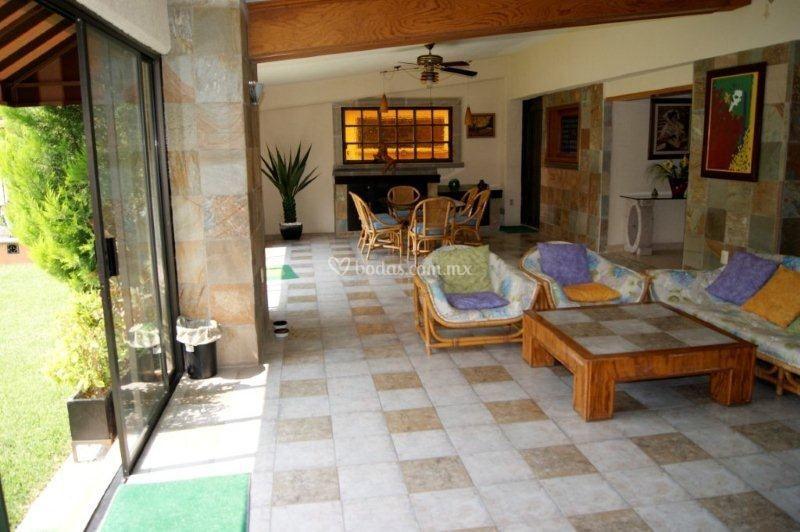 Villa Las Fuentes - Sala TV