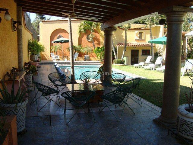 Yr villas cuernavaca - Fuente terraza ...