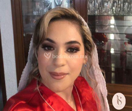 Maquillaje con aerógrafo novia