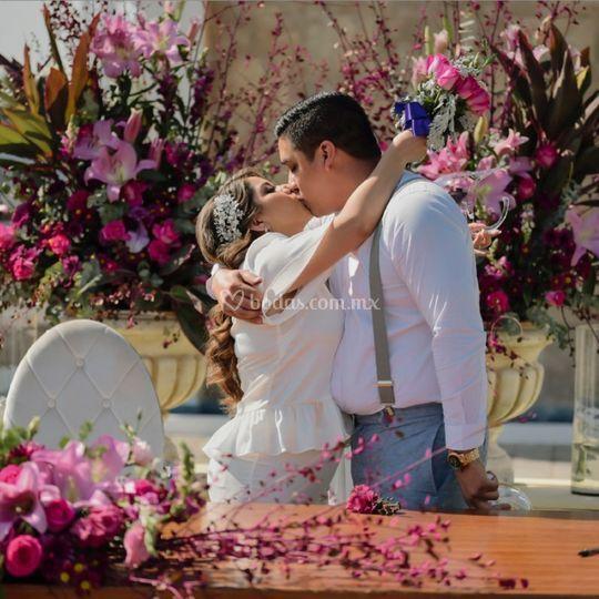 Dijo que sí, boda civil