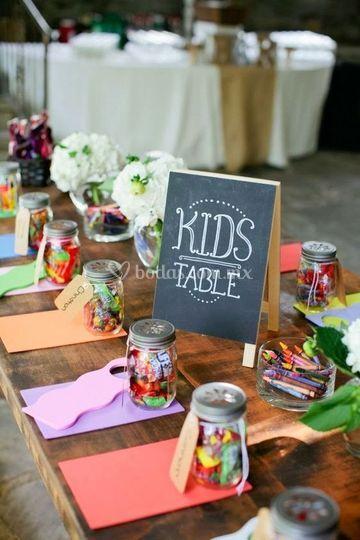 Decroación y mesas de dulces
