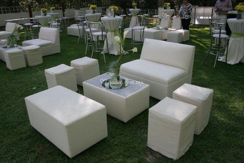 Montaje tipo lounge