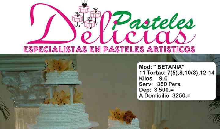 Pasteles Delicias