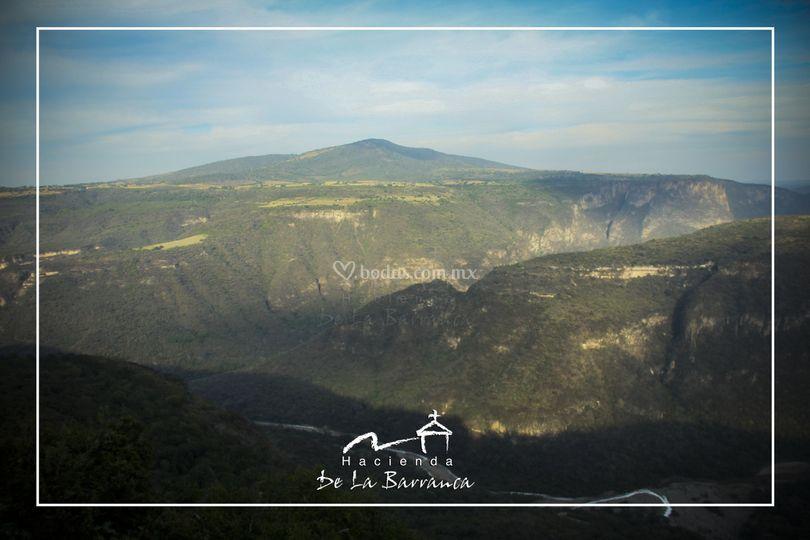 Vista a Barranca de Huentitán