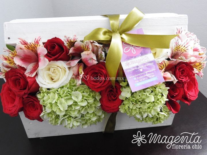 Baúl de flores