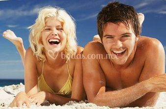 Playa, sol y arena