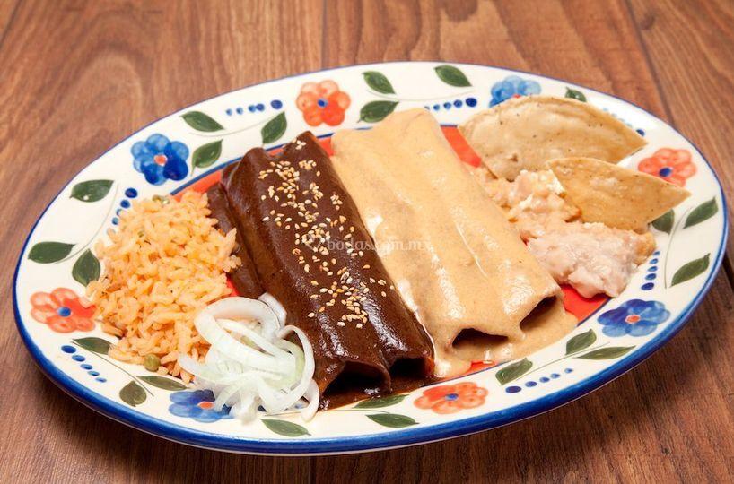 Enchiladas La Gorda
