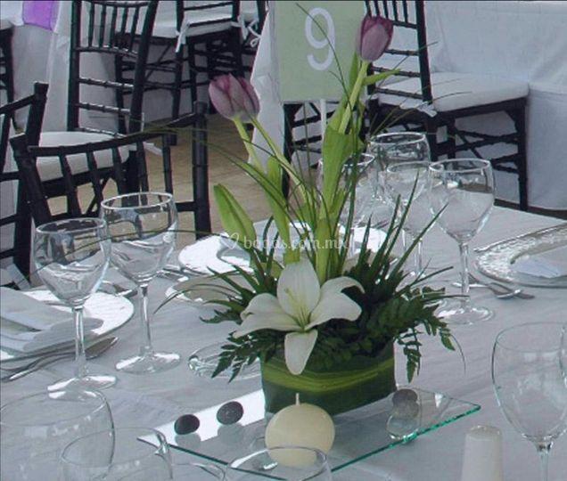 Centros mesa caseros para bodas brindamos pictures car interior design - Centros de mesa caseros ...