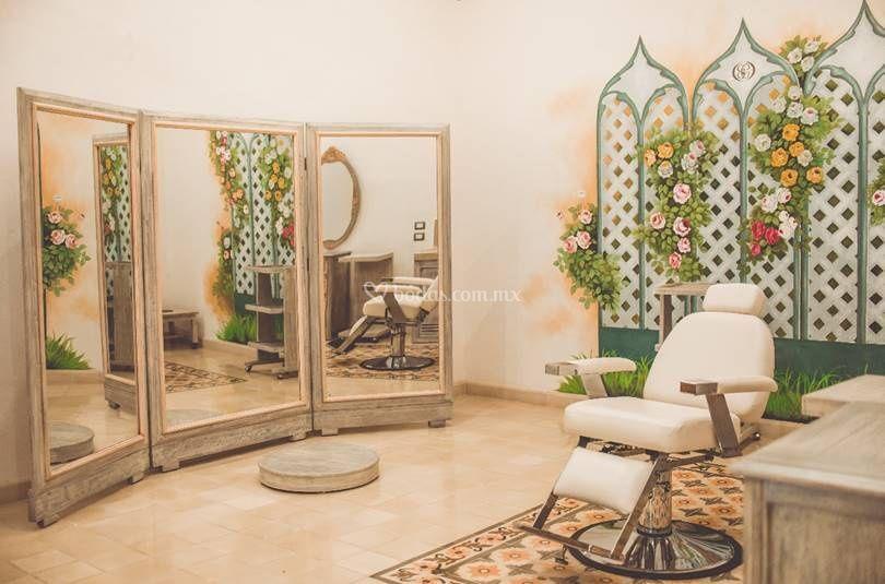 Sala de belleza novia