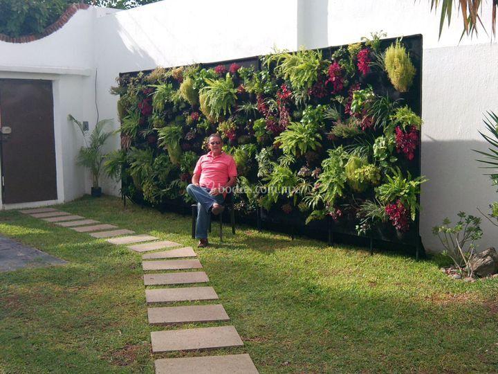 Que buen evento de jardines verticales foto 2 for Fotos de jardines verticales