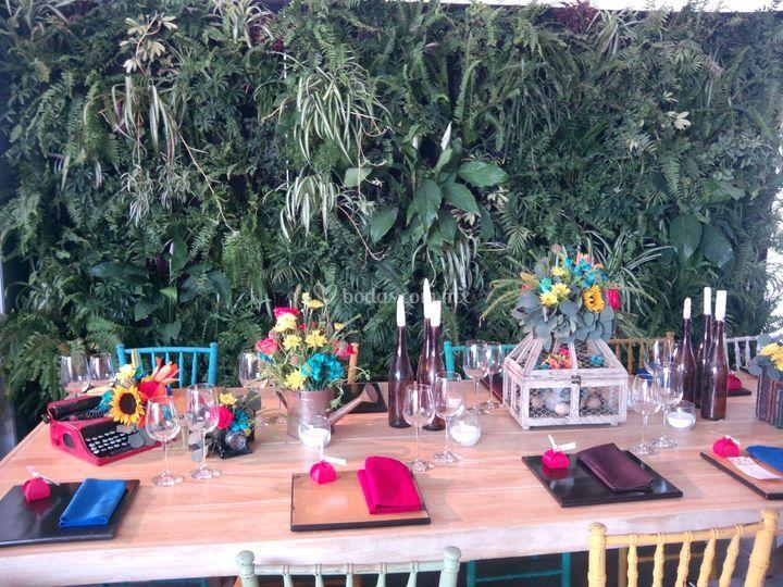 Ideas originales para bodas de jardines verticales foto 3 for Jardines verticales precios