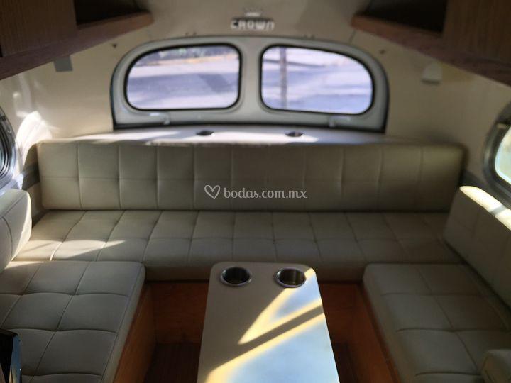 Crown Coach 1956 interior