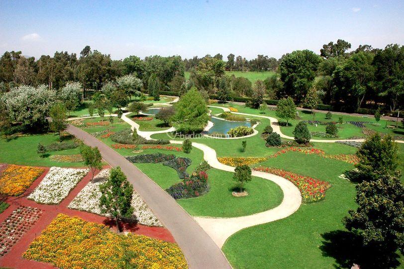 Jardines y senderos Xochitla