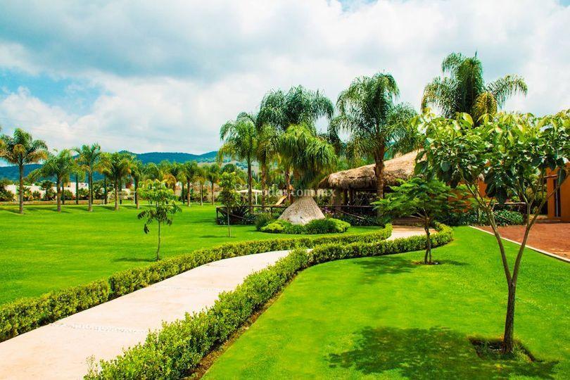 Jardines de Quinta los Agapantos